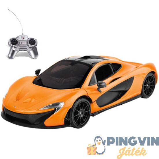 Mondo Toys - RC McLaren P1 narancssárga 1:24 távírányítós autó 27MHz