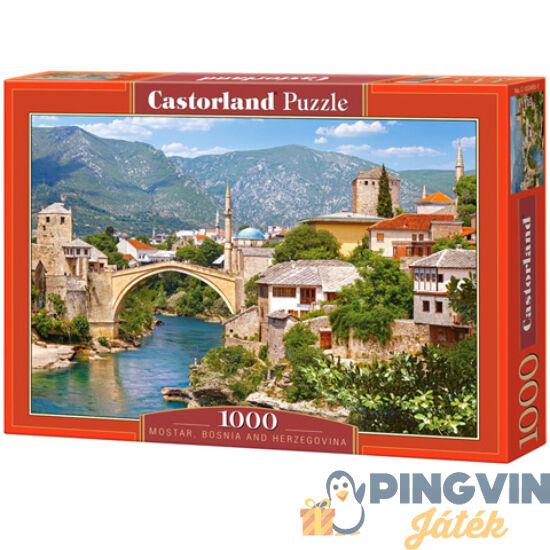Mostar, Bosznia-Hercegovina 1000db-os puzzle - Castorland