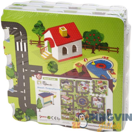Nagyváros habszivacs 9 darabos puzzle - 30 x 30 cm