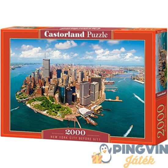 New York szeptember 11. előtt 2000db-os puzzle - Castorland