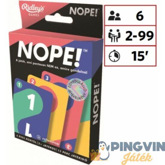 Nope! Party Kártyajáték