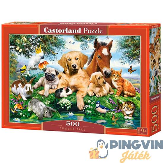 Nyári cimborák 500db-os puzzle - Castorland