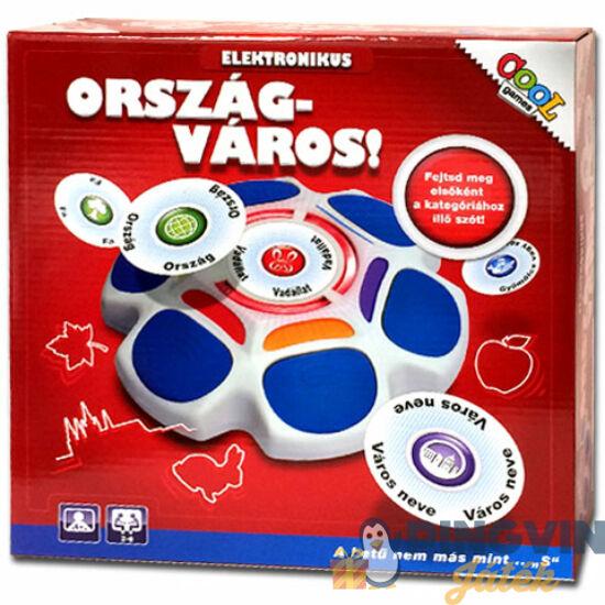 Epee - Ország-Város elektronikus társasjáték (EP02999)