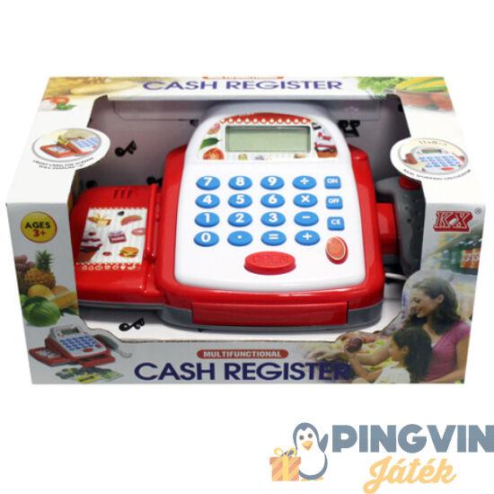 Pénztárgép készpénzzel és bakkártyával - Unikatoy
