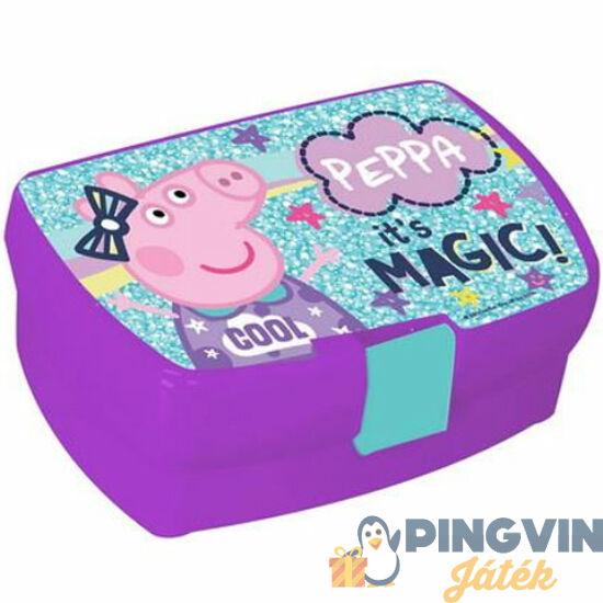 Luna: Peppa malac lila uzsonnás doboz