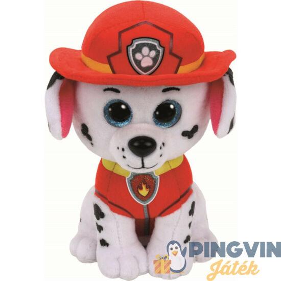 Plüss Beanie Babies - Mancs őrjárat - Marshall 24 cm-es