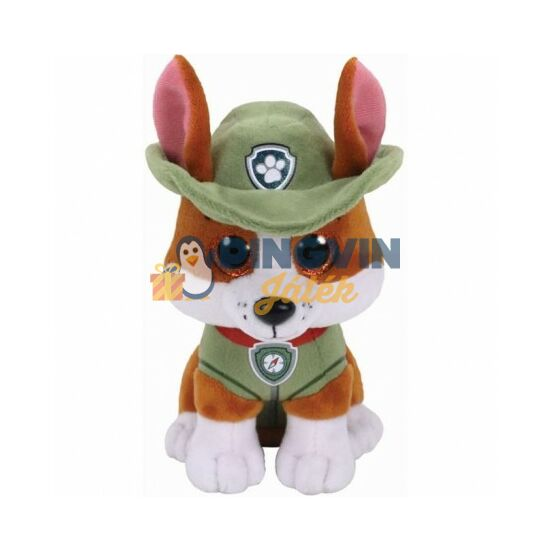 Plüss Beanie Babies - Mancs őrjárat - Tracker 15 cm-es