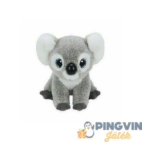 Beanie Boos - Kookoo szürke plüss koala, 15 cm-es