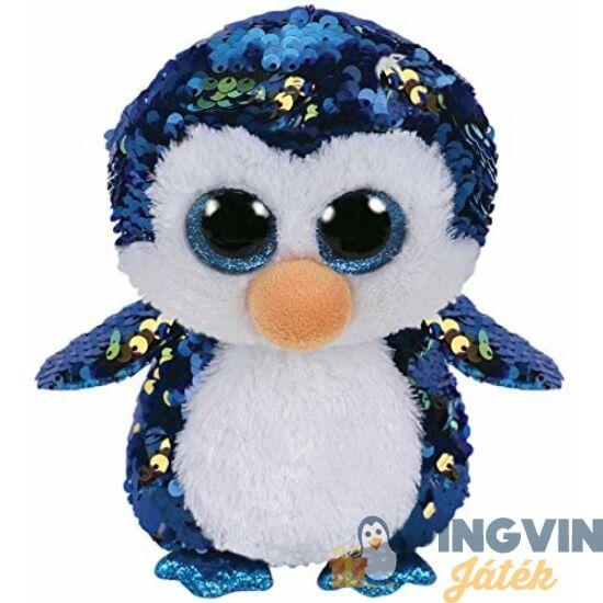 Beanie Boos - Payton flitteres pingvin, 15cm-es