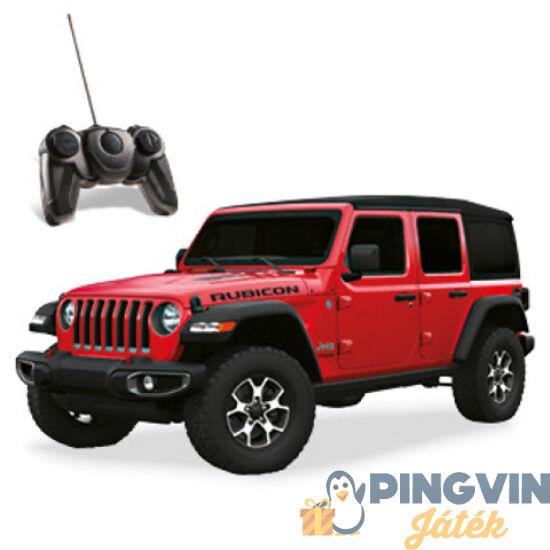 RC Jeep Wrangler Rubicon piros távirányítós autó - Mondo Toys