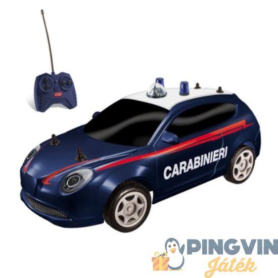RC Olasz távirányítós csendőrségi autó modell 1/28 - Mondo Motors