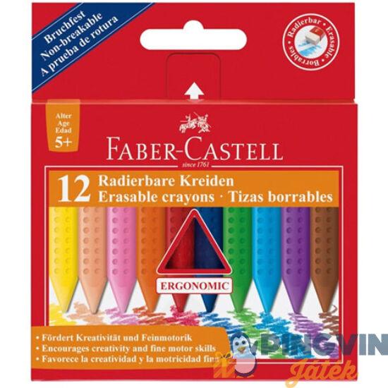 Radírozható zsírkréta 12db-os szett - Faber-Castell