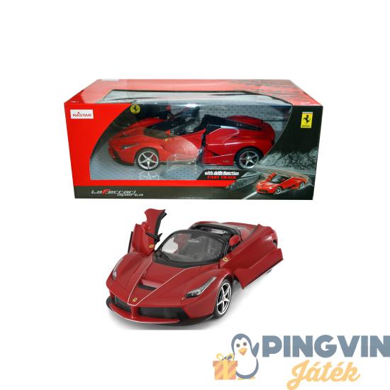 Rastar - Távirányítós autó 1:14 Ferrari LaFerrari Aperta 7