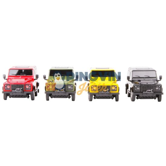 Rastar - Távirányítós autó 1:24 Land Rover Defender 78500, többféle
