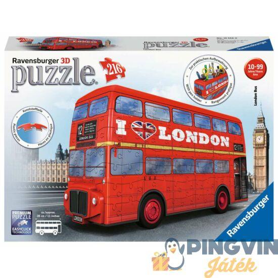 Ravensburger - 3D puzzle 216 db-os- London busz