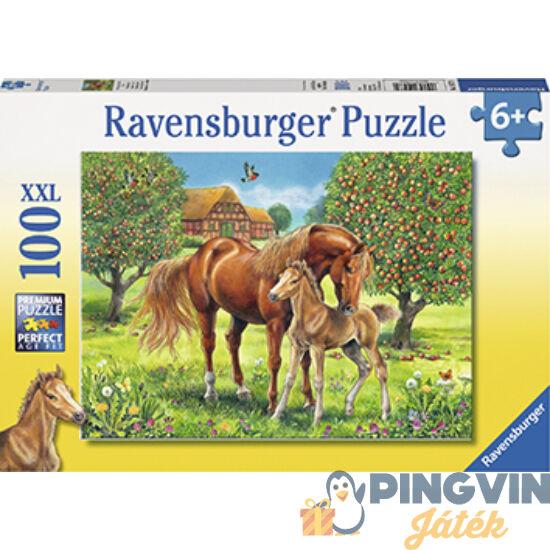 Ravensburger: Lovak a mezőn 100db-os puzzle