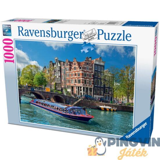 Ravensburger: Amszterdami Canal túra 1000 db-os puzzle