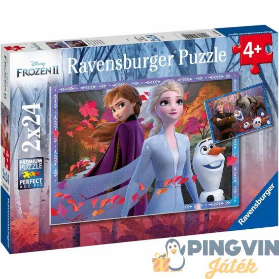 Ravensburger - Jégvarázs 2 Az erdőben 2 x 24 darabos puzzle