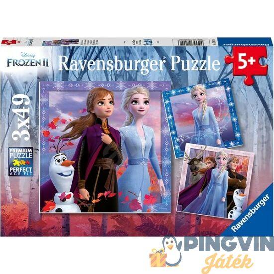 Ravensburger - Jégvarázs 2. Puzzle 3x49 db-os