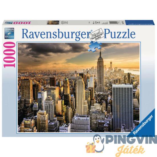 Ravensburger: A nagy New York, 1000 db-os puzzle
