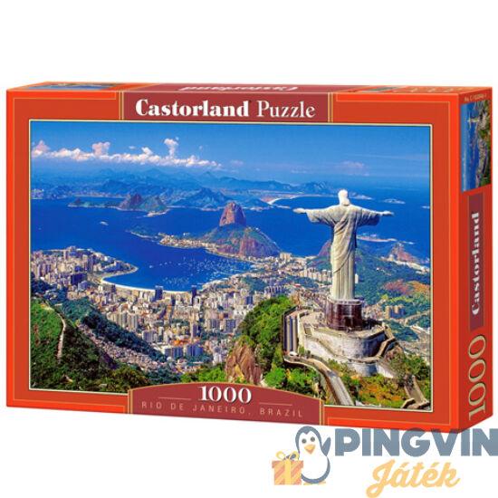 Rio de Janeiro, Brazília 1000db-os puzzle - Castorland