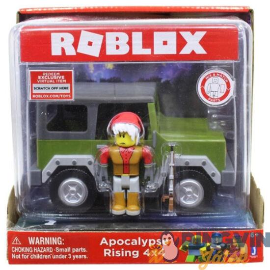 Roblox: Apocalypse Rising 4x4 jargany és játékfigura