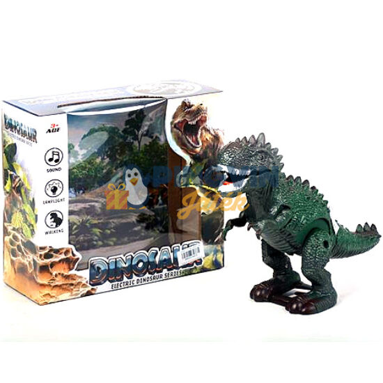 Sétáló T-Rex dinoszaurusz fénnyel és hanggal - MK Toys