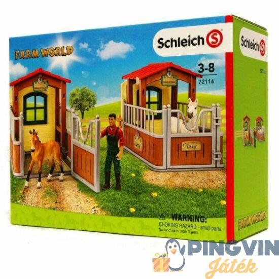 Schleich - Látogatás az istállónál 72116