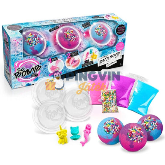 Canal Toys - So Bomb fürdőgolyó 3db-os készlet többféle változatban (BBD003)