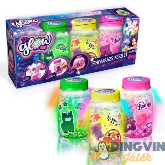 So Glow: Fényvarázs készlet 3db-os többféle változatban - Flair Toys