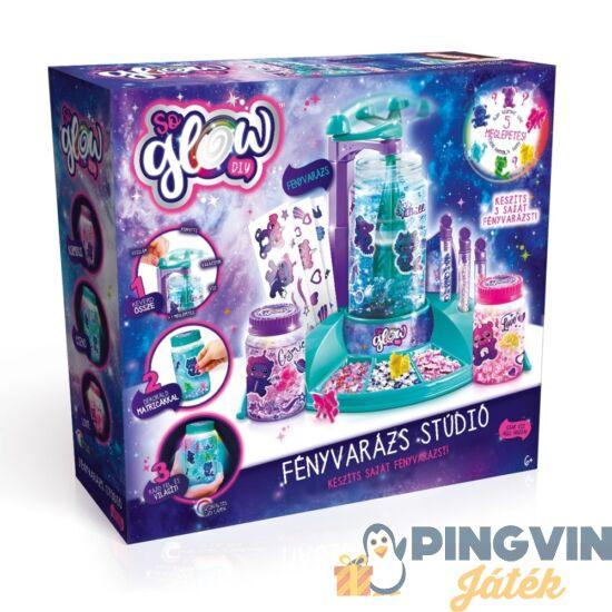 So Glow: Fényvarázs stúdió kiegészítőkkel - Flair Toys