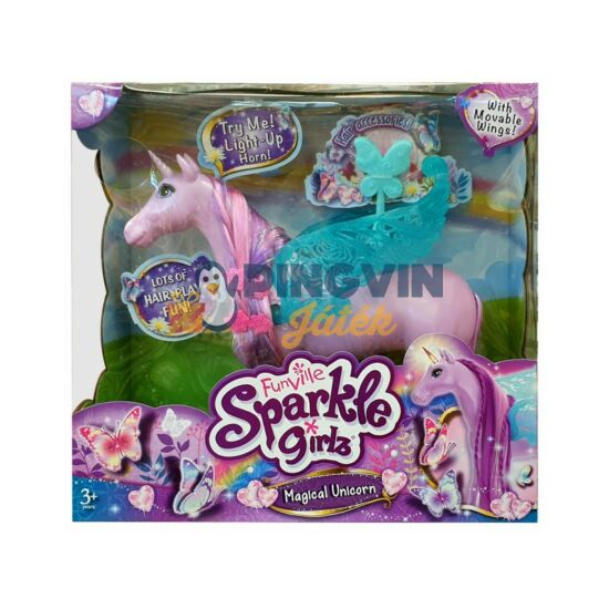 Sparkle Girlz világító unikornis