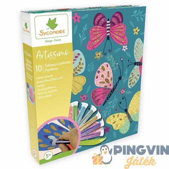 Sycomore Csillámkép készítés - Pillangók