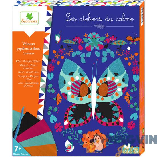 Sycomore: Fémfólia technika  -  Pillangók és virágok