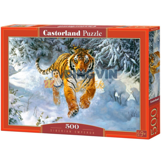 Szibériai uralkodó 500db-os puzzle - Castorland