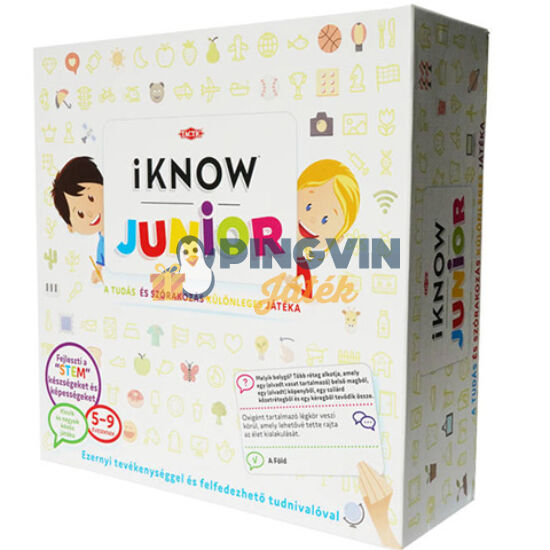 Asmodee - Tactic: I Know Junior kvíz társasjáték - Asmodde (54462)