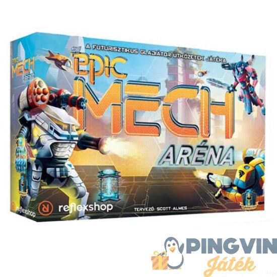 Tiny Epic: Mech aréna stratégiai társasjáték - Asmodde