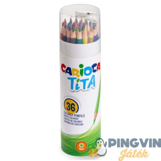 Carioca - Tita 36db-os színes ceruza szett henger tokban (43342)