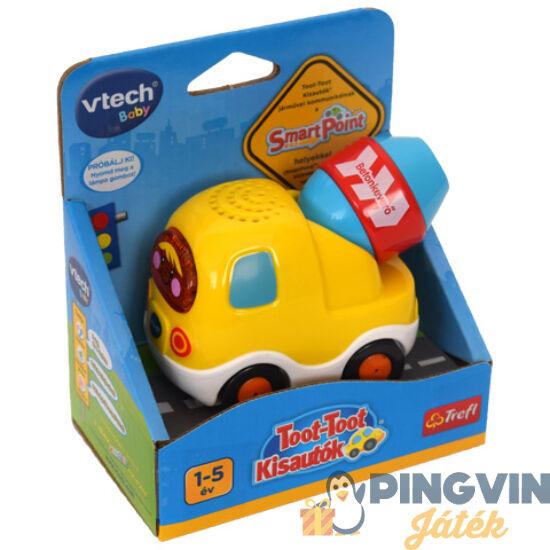 V-Tech - Toot-Toot Kisautók: Betonkeverő kisautó (60818)