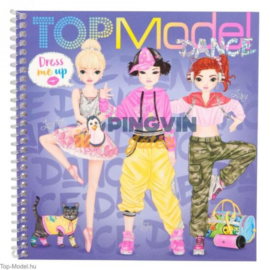 Depesche - TopModel: Dress Me Up matricás könyv Dance 11140