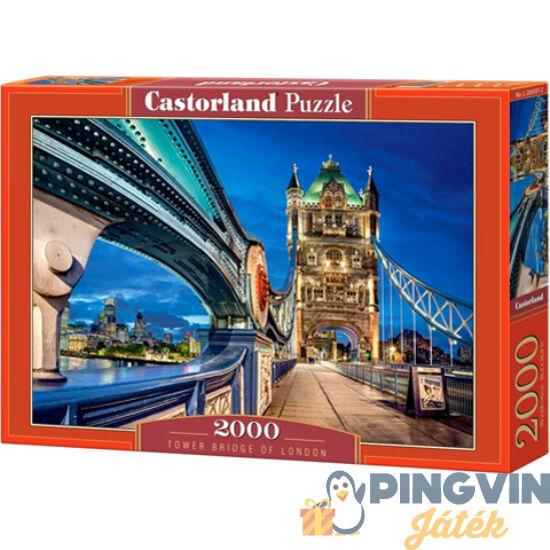 Tower Bridge, London 2000db-os puzzle - Castorland