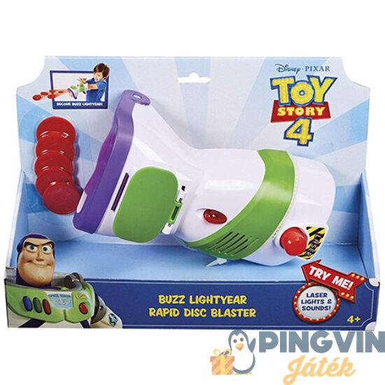 Mattel - Toy Story 4: Buzz Lightyear korongkilövője játékszett (GDP85)