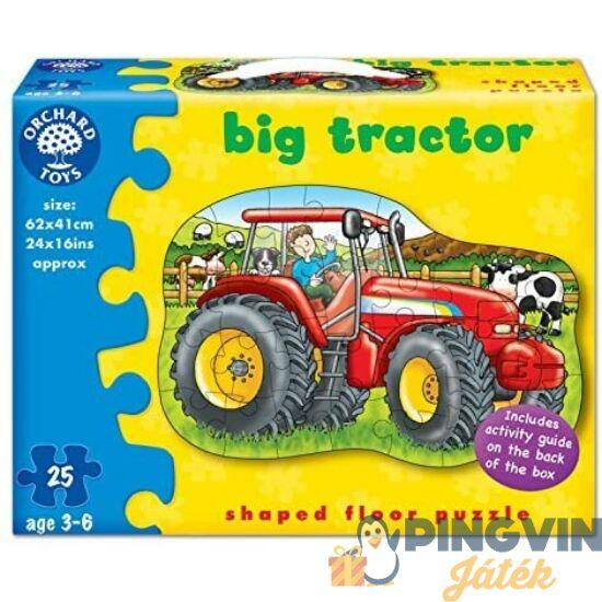 Traktor puzzle 25db-os 64x46cm