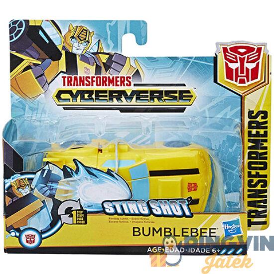 Transformers Cyberverse űrdongó átalakítható robot figura 10cm - Hasbro