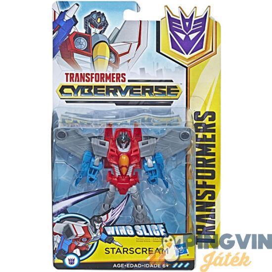 Transformers Cyberverse Deluxe Starscream robot figura - Hasbro