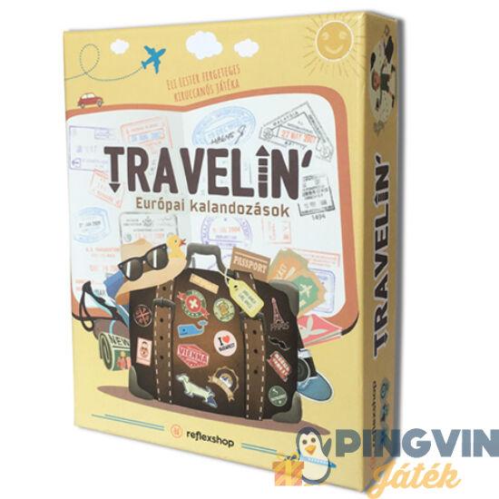 Travelin' Európai kalandozások stratégiai társasjáték - Asmodde