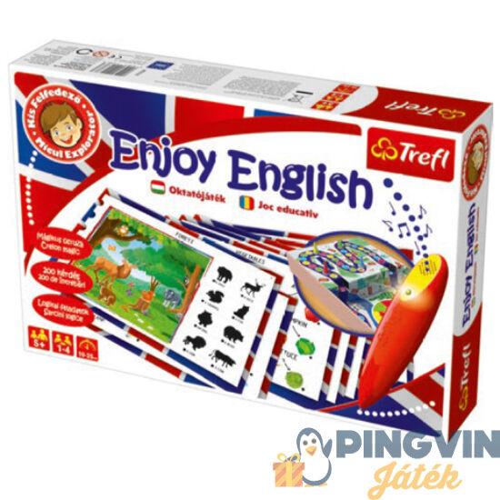 Trefl - Kis Felfedező mágikus ceruzával - Enjoy English oktató játék