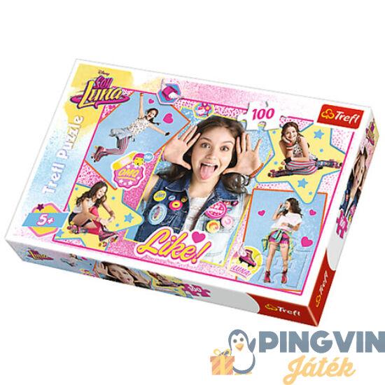 Trefl - Soy Luna kollázs puzzle 100db-os