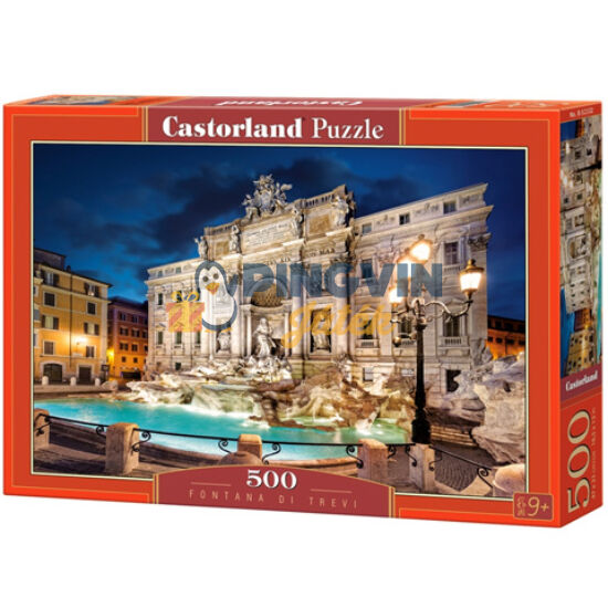 Trevi-kút, Olaszország 500db-os puzzle - Castorland