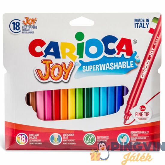 Carioca - Vékony filctollszett 18db (40555)